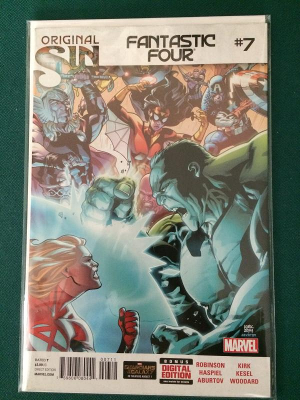Fantastic Four #7 (2013 series)