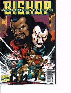 Lot Of 2 Marvel Comic Books Bishop Xavier Security #3 and Flashback Cable #1 ON4