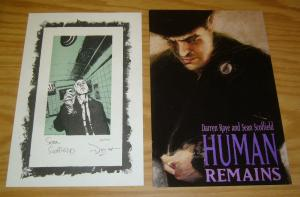 Human Remains: the Special Edition #1 VF/NM with signed & numbered print (1,000)