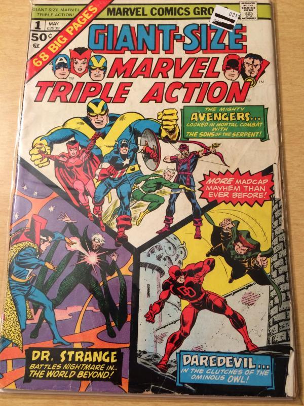 Marvel Triple Action Giant Size #1