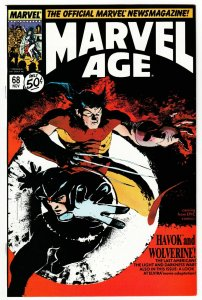 Marvel Age #68 (Marvel, 1988) VF-