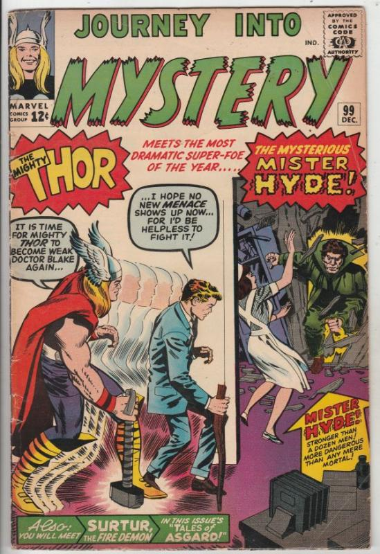 Journey into Mystery #99 (Dec-63) VG/FN Mid-Grade Thor