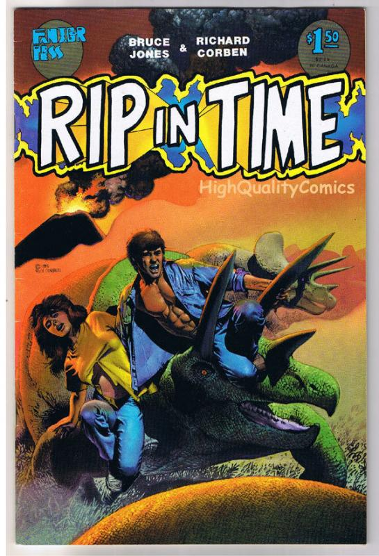 RIP IN TIME #2, Richard Corben, Fantagor, Dinos,1986, VF