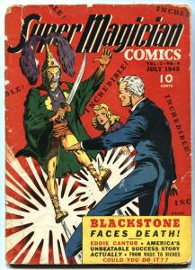 Super Magician #6 Eddie Cantor- BLACKSTONE 1942 incomplete