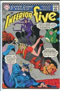 INFERIOR FIVE #2 1967-DC COMICS-MIKE SEKOWSKY-PLASTIC MAN-HUMAN TORCH-vf-