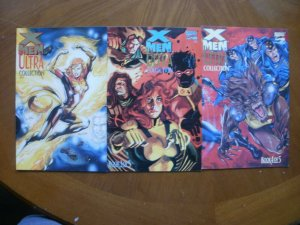 3 Near-Mint Marvel Comic: X-MEN THE ULTRA COLLECTION #2 3 4 (Jan Feb Mar 1994)