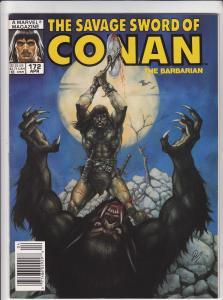 Savage Sword of Conan #172