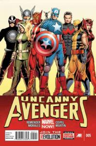 Uncanny Avengers (2012 series) #5, NM + (Stock photo)