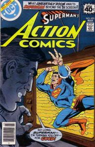 Action Comics #493 VG; DC | low grade comic - save on shipping - details inside