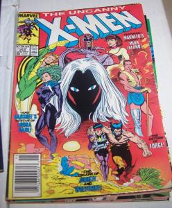 Uncanny X-Men #253 banshee forge storm jubilee magneto