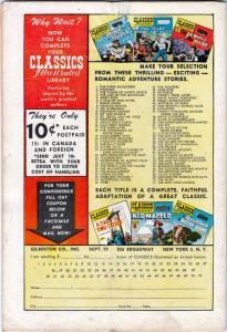 Classics Illustrated #70 (Apr-50) VG Affordable-Grade