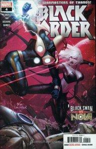 Black Order #4 VF; Marvel | save on shipping - details inside
