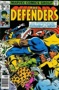 Defenders, The #63 FN; Marvel | save on shipping - details inside