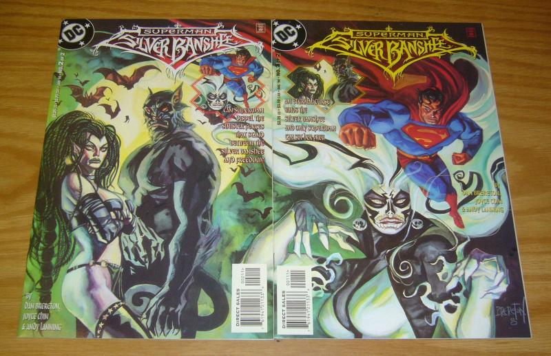 Superman: Silver Banshee #1-2 VF/NM complete series - dan brereton set lot