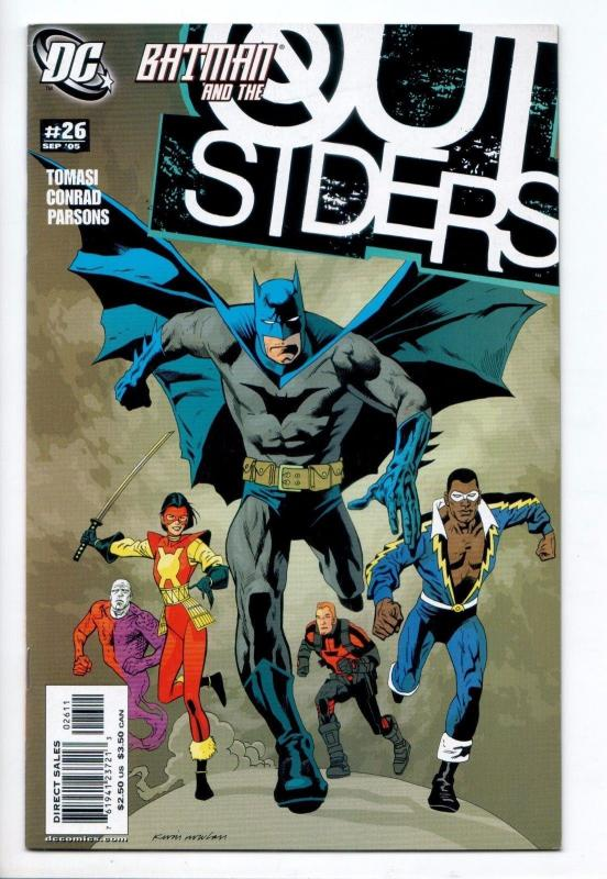 Batman and the Outsiders #26 (DC, 2005) VF/NM