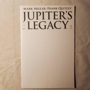 Jupiter Legacy 1 Very Fine/Near Mint Blank Variant Cover