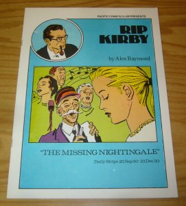 Rip Kirby #16 VF pacific comics club - alex raymond - missing nightingale - 1980