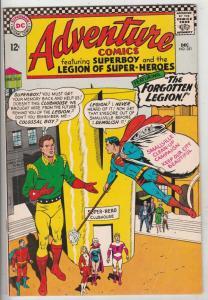 Adventure Comics #351  FN/VF Mid-High-Grade Legion of Super-Heroes, Superboy