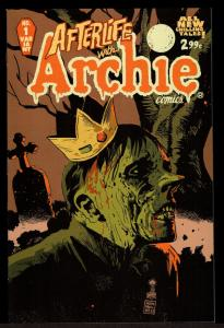 Afterlife With Archie #1 1st Printing Variant Cover (Sep 2013, Archie) 9.2 NM-