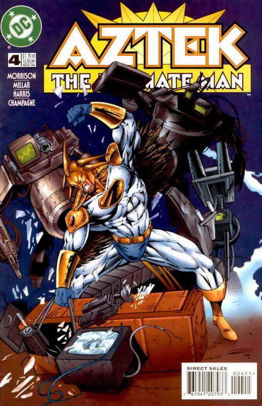 Aztek: The Ultimate Man #4 VF/NM; DC | save on shipping - details inside