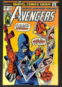 Avengers #145 FN+ 6.5 1st Assassin! Marvel Comics Thor Captain America
