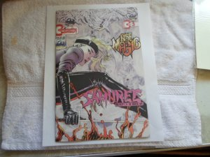 1993 CONTINUITY COMICS SAMUREE # 3
