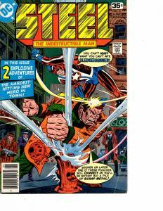 Lot Of 2 DC Comics Steel Indestructible Man #3 and New Talent Showcase #1 JB4