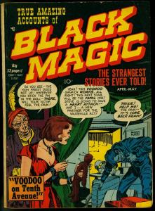 Black Magic #4 1951- Simon & Kirby precode horror G/VG