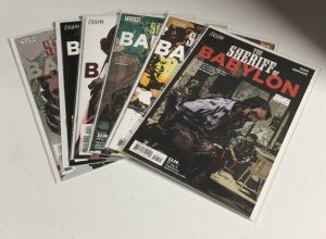 The Sheriff Of Babylon 7 8 9 10 11 12 Nm Near Mint Vertigo Comics