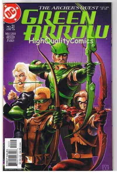 GREEN ARROW #21, NM+, Fatherhood, Ande Parks, 2001, more GA in store