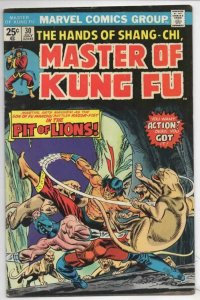 MASTER OF KUNG FU #30, FN, Martial Arts, Marvel Gulacy 1974 1975