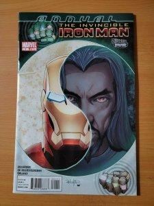 The Invincible Iron Man Annual #1 ~ NEAR MINT NM ~ 2010 Marvel Comics