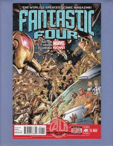 Fantastic Four #5 NM Marvel 2013