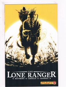 The Lone Ranger # 9 VF Dynamite Entertainment Comics Awesome Issue Western!! SW5