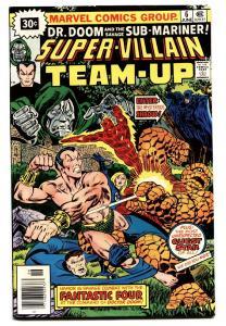 SUPER-VILLAIN TEAM-UP #6 comic book-30 CENT PRICE VARIANT-VF-