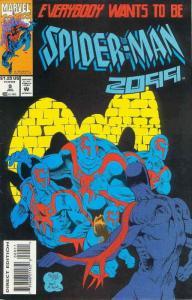 Spider-Man 2099 #9 VF; Marvel   save on shipping - details inside