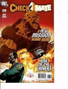 Lot Of 6 Checkmate DC Comic Books #26 27 28 29 30 31 Batman Superman LH21