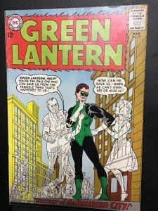 Green Lantern #27 (1964) Mystery of the deserted city! High grade VF+ Wow!