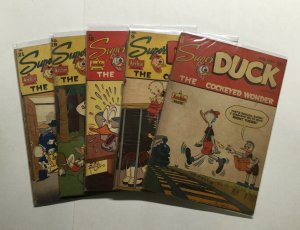 Super Duck 6 9 18 19 21 Lot Run Set Good+ To Very Good+ 2.5-4.5 Archie Magazine