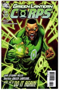 Green Lantern Corps #61 (NM) 2011 DC Comics 1¢ auction! No Reserve!