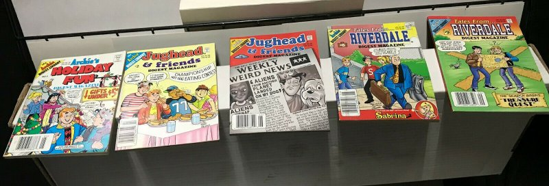ARCHIE JUGHEAD DIGEST MAGAZINE LOT of 5 Early-Mid 2000's FINE Condition! #3
