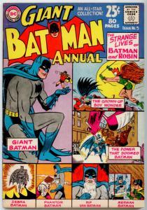 DC Batman Annual #5 FN 6.0 (1 spine tear top back cover)  Finger Moldoff Sprang