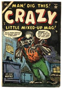CRAZY #5-1953-MAD COMICS IMITATION-MANEELY-BURGOS