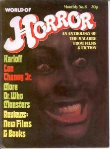 WORLD OF HORROR (1970S DALLRUTH)   8 VF