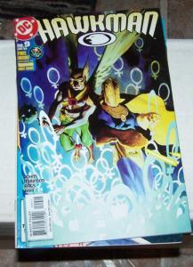Hawkman #9 (JAN 2003, DC) and  DR FATE HAWKGIRL MAGIC AQUAMAN PREVIEW