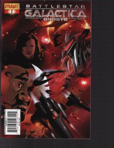 Battlestar Galactica Ghosts #1 (Dynamite, 2008)
