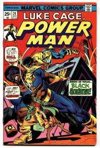 Power Man #24 1975 First appearance of Black Goliath VF