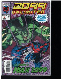 2099 Unlimited #1 (Marvel, 1993) NM