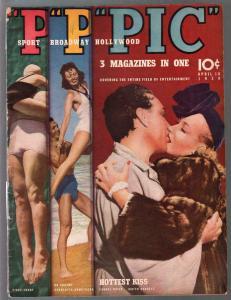 PIC 8/18/1939-Street & Smith-Rita Hayworth-cheesecake pix-exploitation-G
