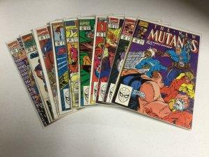 New Mutants 89-96 99 100 Fn-Vf Fine-Very Fine Marvel Comics